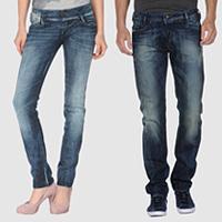 Jeans Diesel, benzina sulla moda
