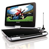 Lettori dvd e TV portatili Philips, tecnologia in movimento.